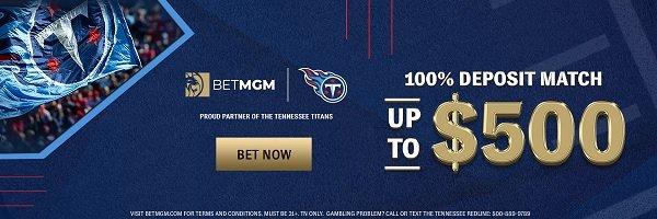 BetMGM Tennessee bonus promo