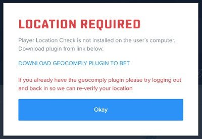 sportsbook geolocation problem